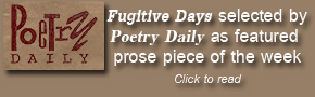 Fugitive Days on Poetry Daily